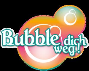 bubble dich weg Logo